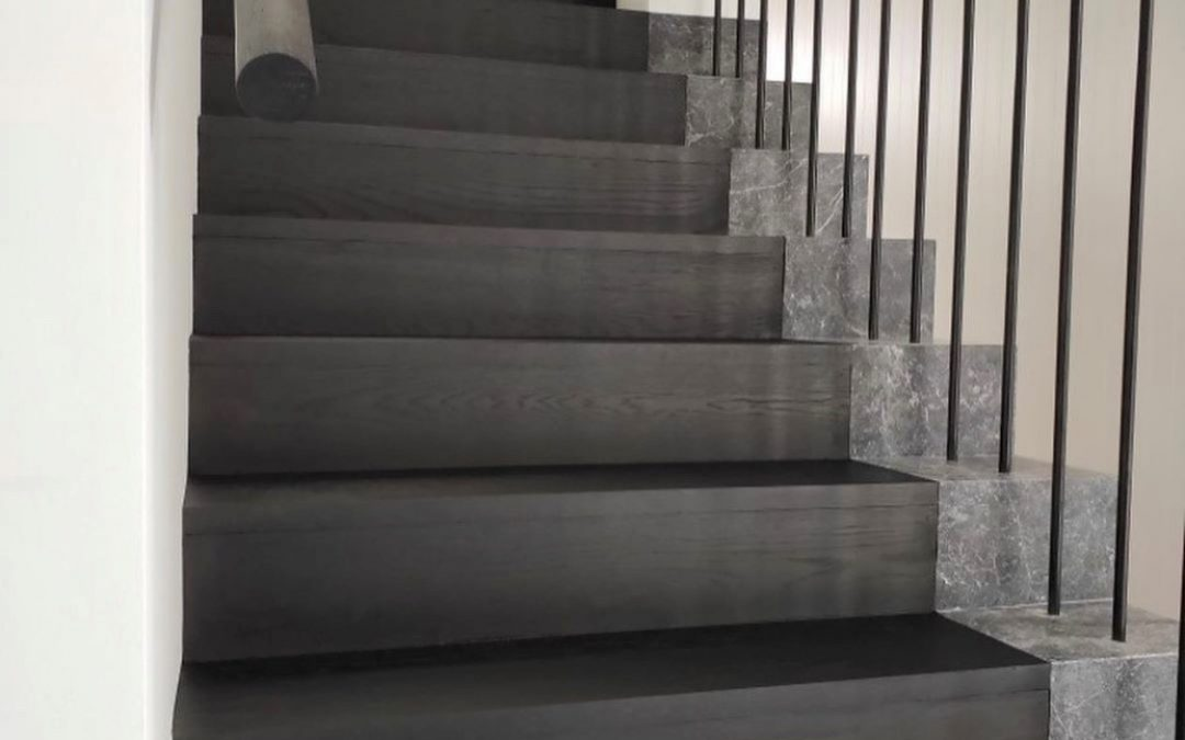Unique stairs with an edge